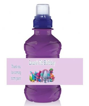 Trolls Bottle Label Wrapper